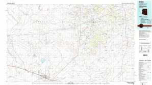 Winslow topographical map