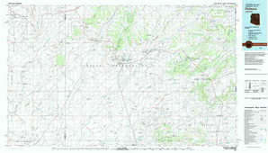Polacca topographical map