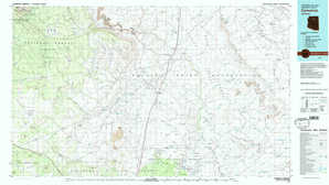 Cameron topographical map