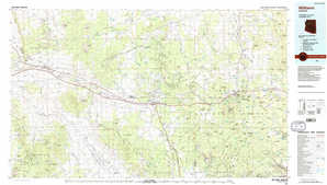 Williams topographical map