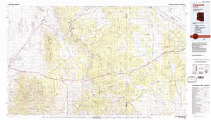 Valentine topographical map
