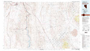 Boulder City topographical map