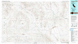 Owlshead Mountains topographical map