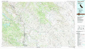 Paso Robles topographical map