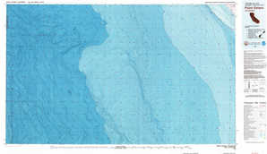 Point Estero topographical map