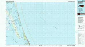 Currituck Sound topographical map