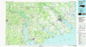 Elizabeth City topographical map