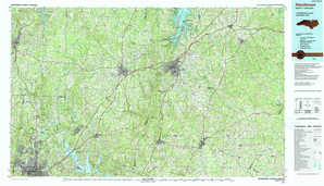 Henderson topographical map