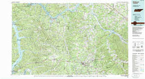 Dickson topographical map