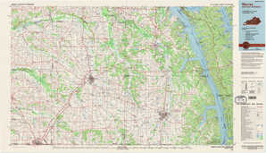 Murray topographical map