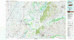 Dyersburg topographical map