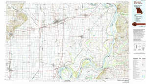Sikeston topographical map