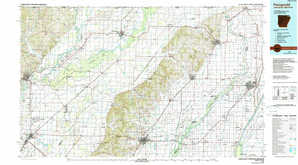 Paragould 1:250,000 scale USGS topographic map 36090a1