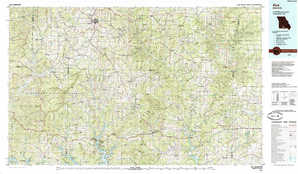 Ava topographical map