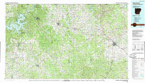 Harrison topographical map