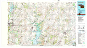 Bartlesville topographical map