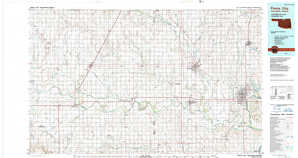 Ponca City topographical map