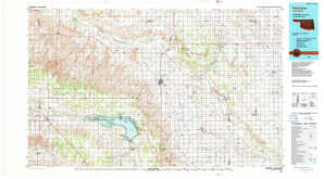Fairview topographical map