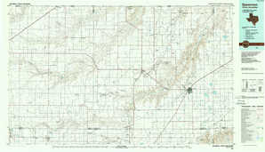 Spearman topographical map