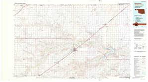 Guymon topographical map