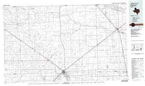 Dalhart topographical map