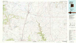 Springer topographical map