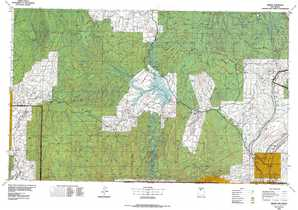 Abiquiu topographical map