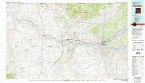 Farmington topographical map