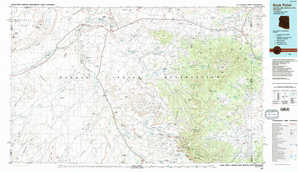 Rock Point topographical map