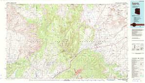 Kayenta topographical map