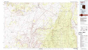 Fredonia topographical map