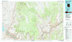 Mount Trumbull topographical map