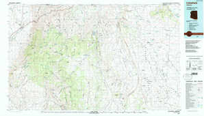 Littlefield topographical map