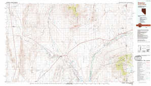 Overton topographical map
