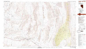 Indian Springs topographical map