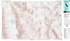 Death Valley Junction topographical map