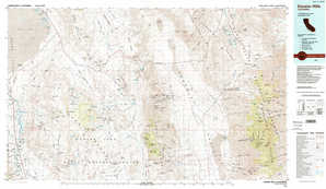 Darwin Hills topographical map
