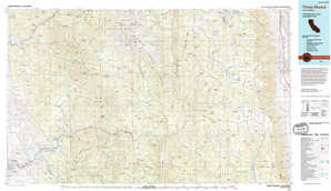 Three Rivers topographical map