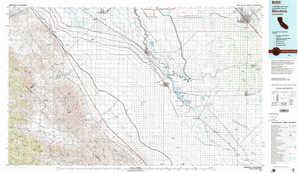 Mendota topographical map