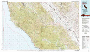 Point Sur topographical map