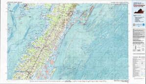 Chincoteague topographical map