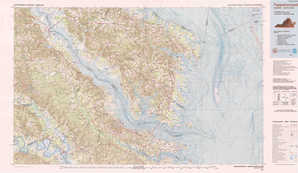 Tappahannock topographical map