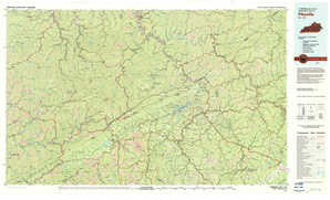 Pikeville topographical map