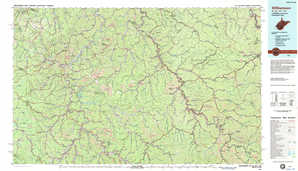 Williamson topographical map