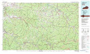 Irvine topographical map