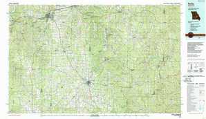 Rolla topographical map