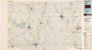 Coffeyville topographical map