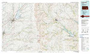 El Dorado topographical map