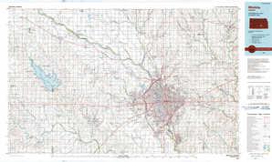 Wichita topographical map