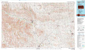 Medicine Lodge topographical map